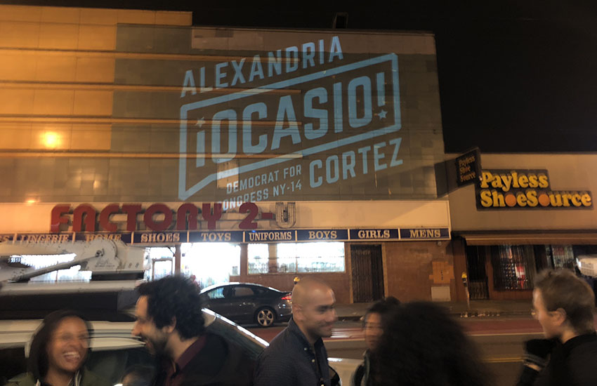 Alexandria Ocasio-Cortez's appearance wows SF's Mission. Her speech not so much.