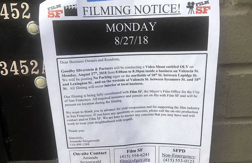 Snap: Did anyone catch the movie crews?