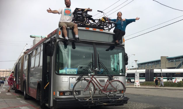 Another SF Muni bus finds its afterlife at Burning Man