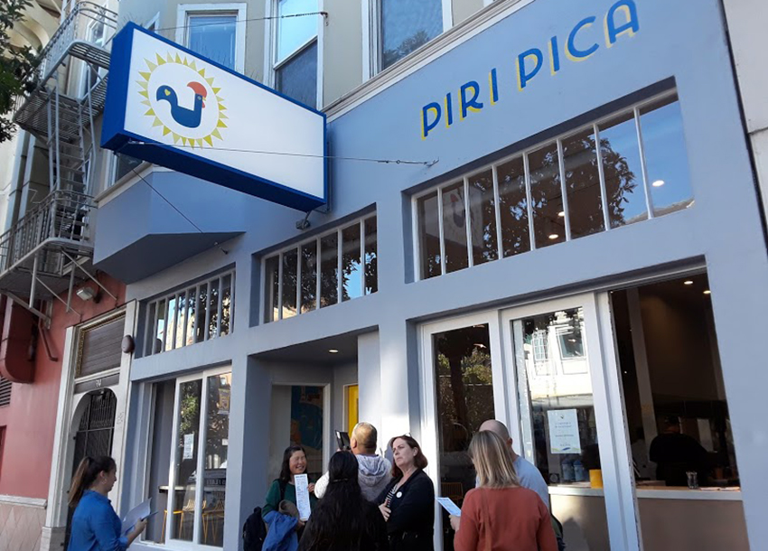 The Fried Chicken Showdown stops in at Piri Pica