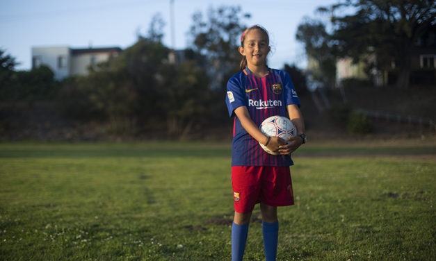 FC Barcelona's next big star may be this 11-year-old from the Mission
