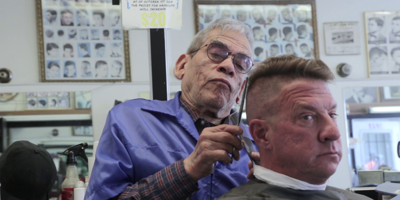 Head to Head: An old-school barber and a new-school barber give each other a haircut (Video)