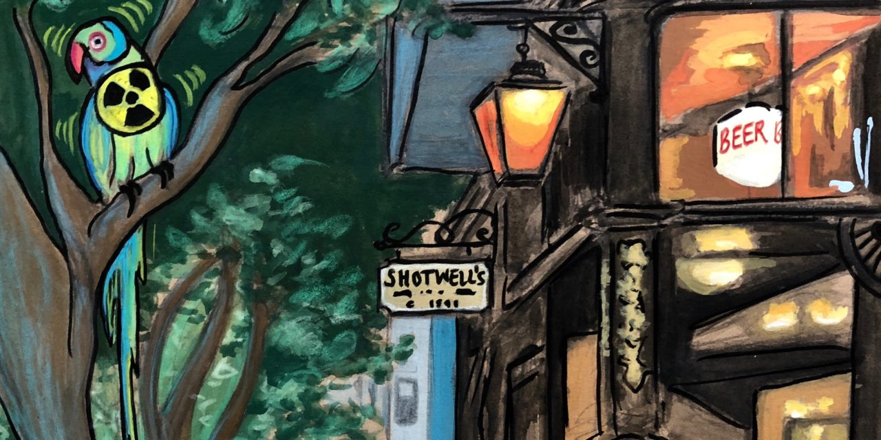 Distillations: Shotwell's, a refuge from San Francisco, radioactivity, and radioactive parakeets