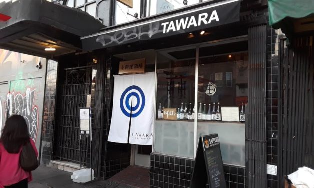 Tawara Sake dining,  another Izakaya in the neighborhood
