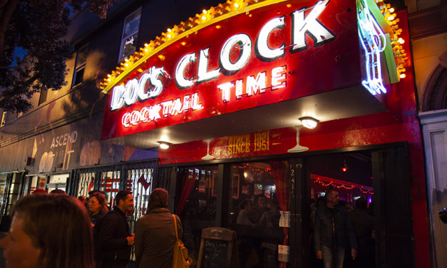 Doc's Clock welcomes iconic sign to new home
