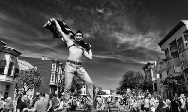 Black and White photos from the Folsom Street Fair