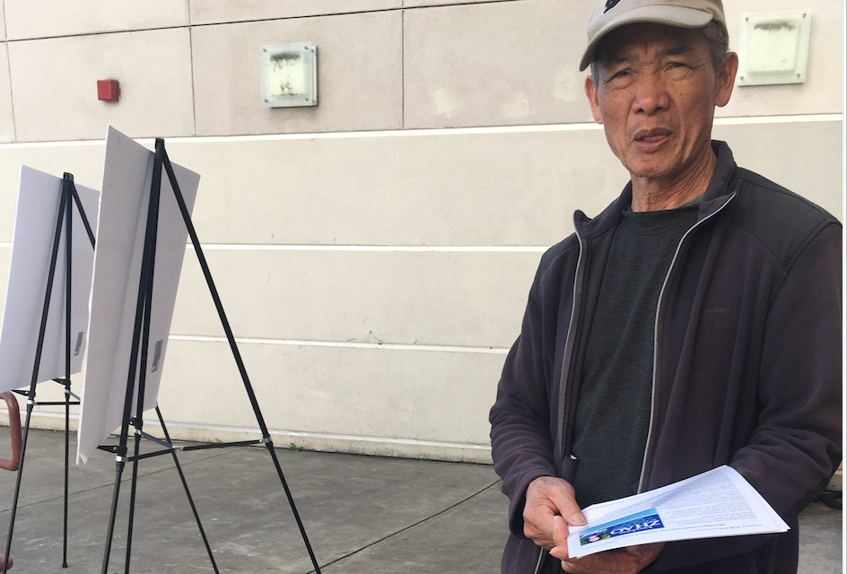 """Josephine Zhao's backers campaign at public school enrollment fair — despite candidate's """"withdrawal"""" from Board of Education race"""