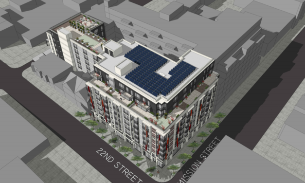 Nine-story building proposed for 22nd and Mission, site of deadly fire