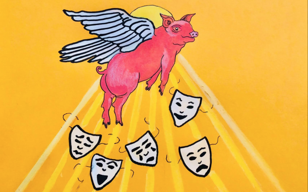 Distillations: The Flying Pig Bistro Pub, a refuge from San Francisco and its bad art