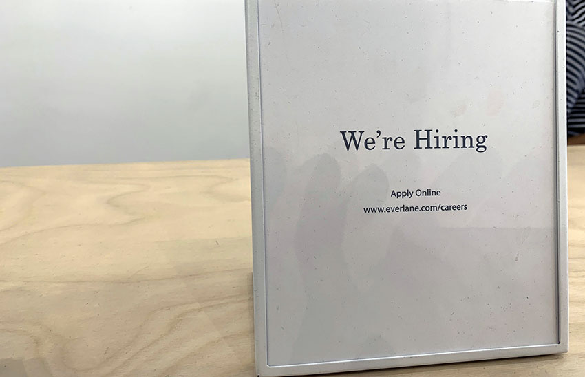 Everlane on Valencia wants minimalist you