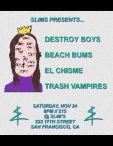 0fbe763dd5 Slim s  Destroy Boys   Beach Bums