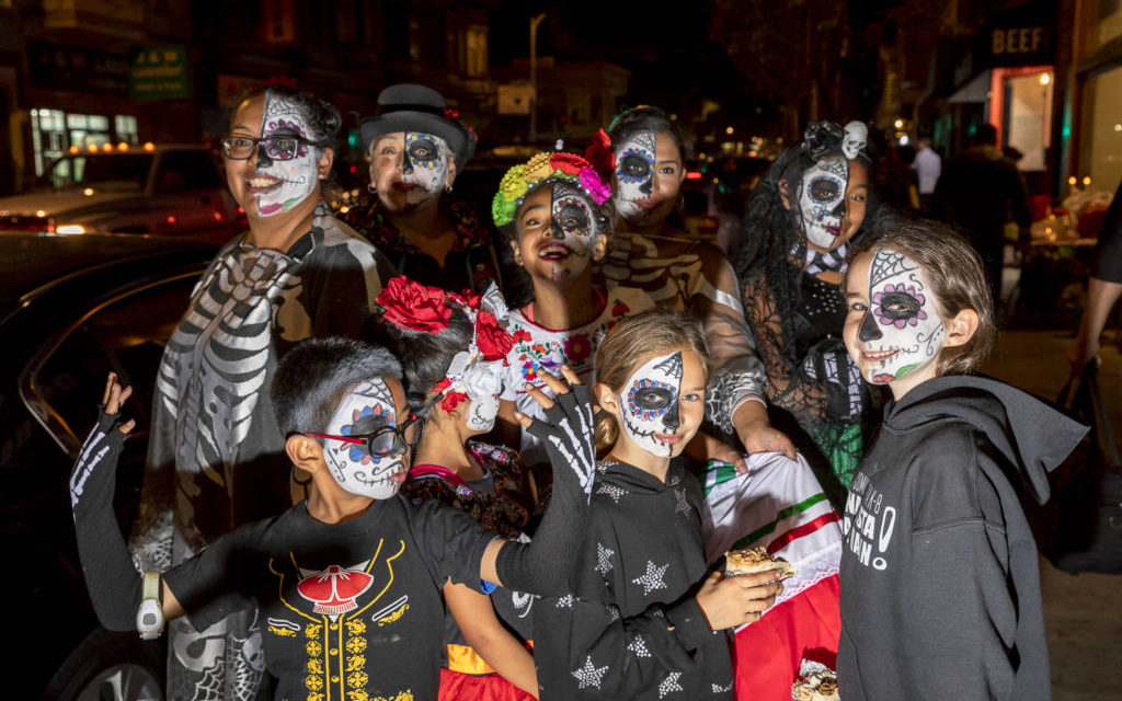 Dia de los Muertos 2018: The living, once again, honor the dead in SF's Mission (PHOTOS)