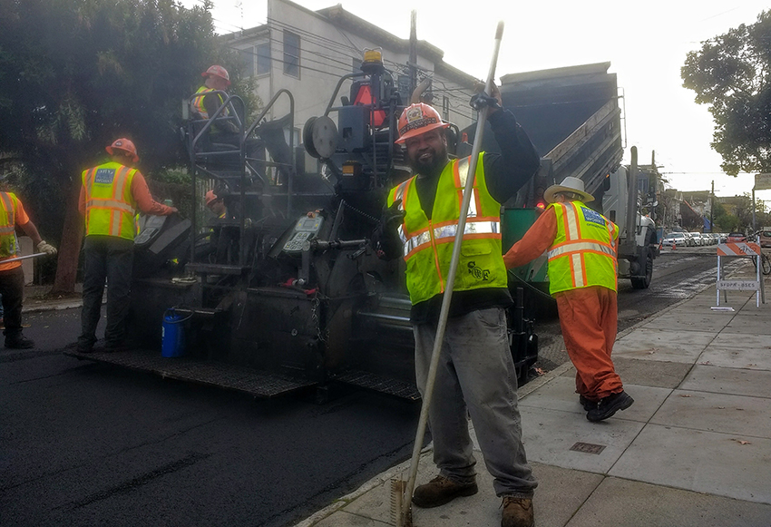 Snap: Florida Street gets fixed