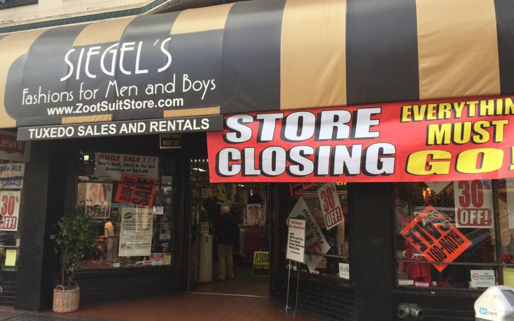 After 91 years on Mission Street, Siegel's Clothing Superstore to shutter