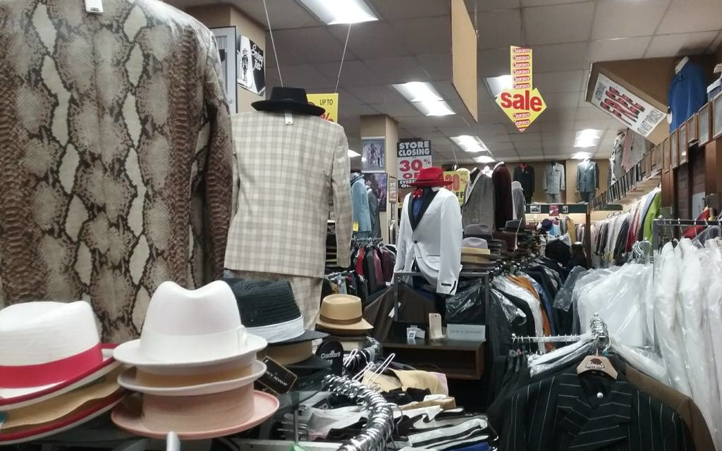 Zoot suit riot: Siegel's Clothing folds, and a community is exposed.