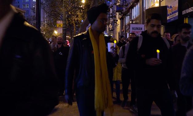 VIDEO: The AIDS vigil
