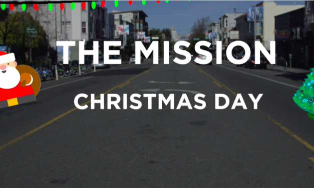 Open for business on Christmas Day in the Mission: Video