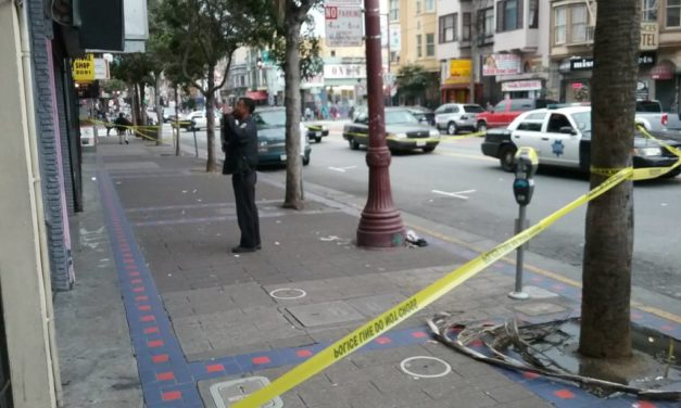 Shooting at 17th and Mission sends one man to the hospital