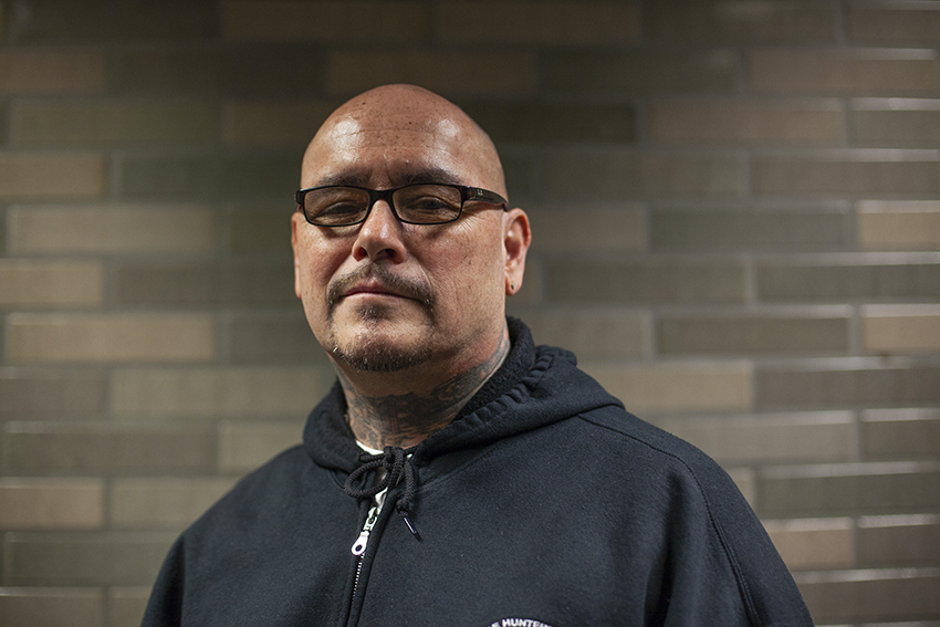 Frank Altamirano spent 32 years in a cell for killing a man. Now he works in an elevator — and saved a man.