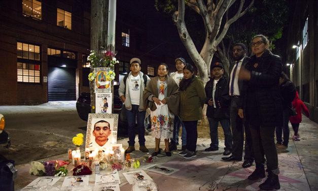 Family remembers SFPD shooting victim with a memorial and hot chocolate for the homeless