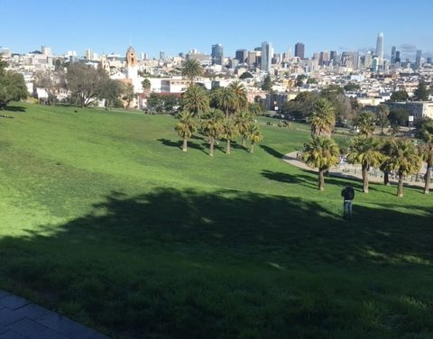 Snap: Christmas Eve, Dolores Park