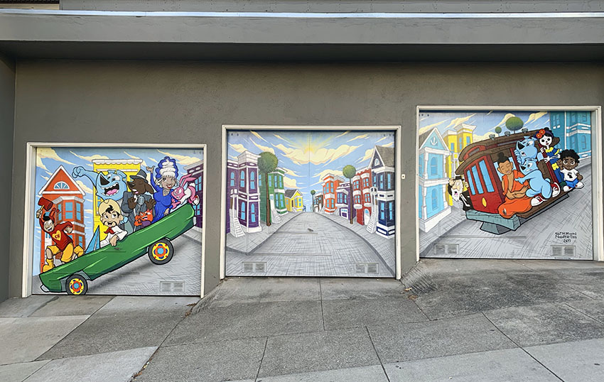 Snap: Mural on Dolores