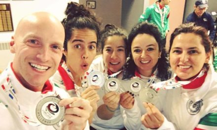 Mexican women's curling team, led by Mission District activist, wins silver medal — still in the running for world championship berth