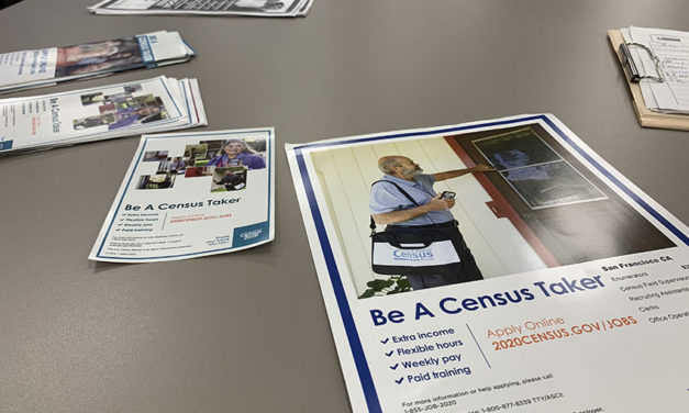 Census count starts while recruitment continues