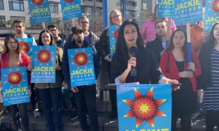 State Sen. candidate Jackie Fielder introduces housing plan, says SB 50 is on its 'last legs'