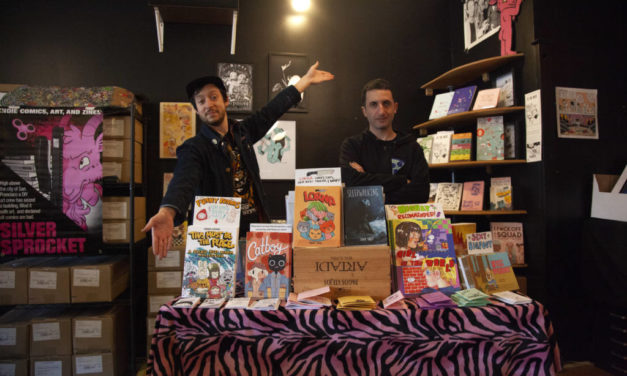 Sliver Sprocket, punk rock indie comic 'Disneyland,' opens on Valencia Street