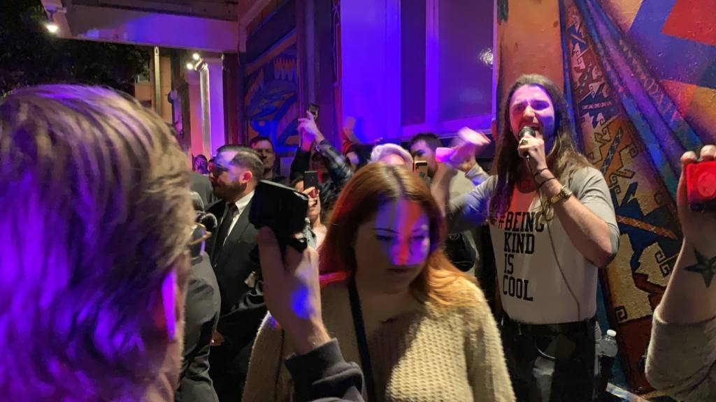 Pro-Trump rally sparks clash at Women's Building in SF's Mission