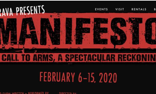 Don't Miss 'Manifesto' at Brava Theater