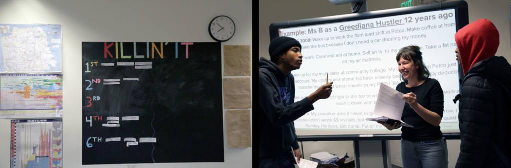 Snap: Ms.B's classroom
