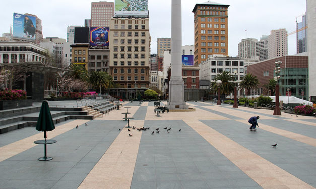 Photo Essay: Day 7 of shelter-in-place from downtown San Francisco
