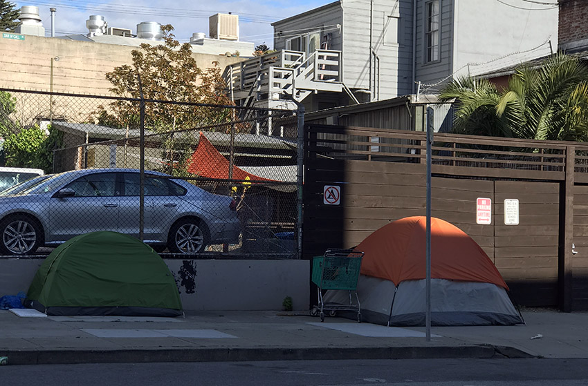 COVID-19: What happens when a homeless shelter resident tests positive?