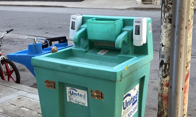 Legislation would call for more toilets and handwashing stations in COVID-hit portions of San Francisco