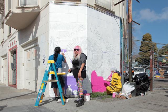 Snap: 'Alien love' mural will return!