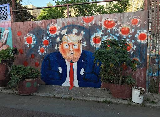 Snap: Trump makes Balmy Alley