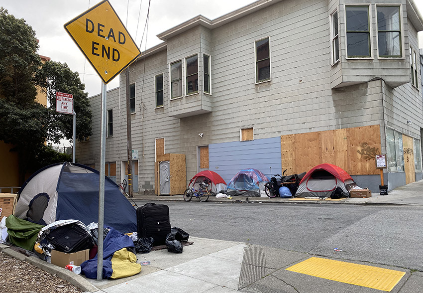 BREAKING: San Francisco homeless shelters closed to new residents during COVID-19 crisis— shelters urged to *not* employ social distancing until further notice