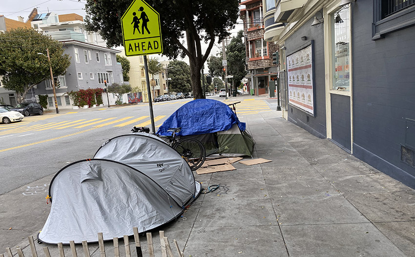 COVID-19: San Francisco to prioritize placing some homeless street-dwellers in hotels — after much coaxing