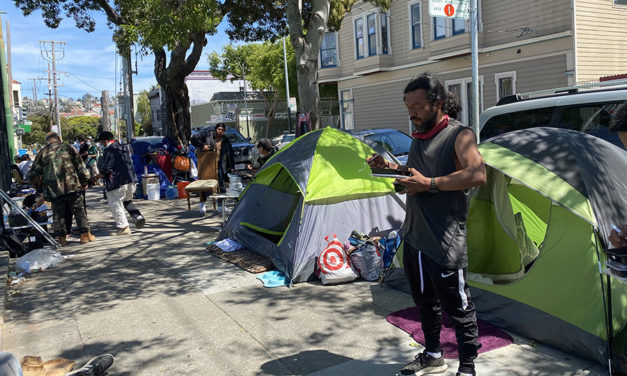 Resident of 21st street encampment discovered dead in his tent