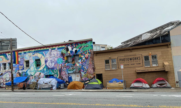 Supervisor Pushes for Socially Distanced Homeless Tent Camps. (SF Public Press)