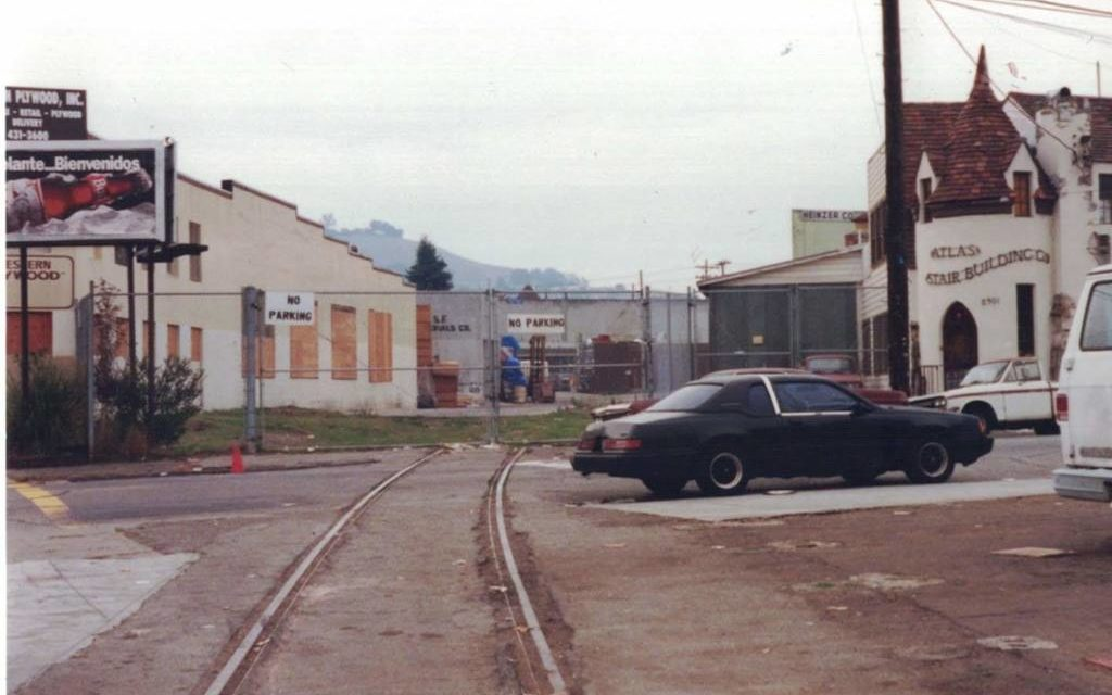 It wasn't so long ago that trains ran through the Mission