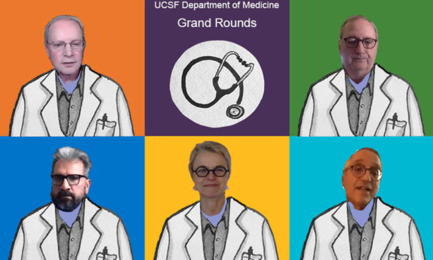 UCSF's Medical Grand Rounds offers a 'sobering' picture of the coronavirus and its challenges