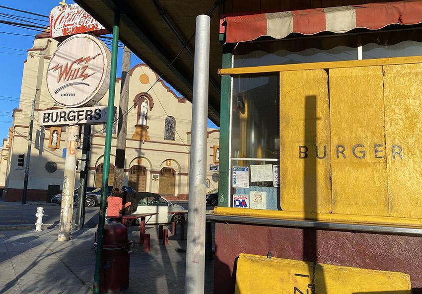 The Great Burger War begins at Whiz Burgers