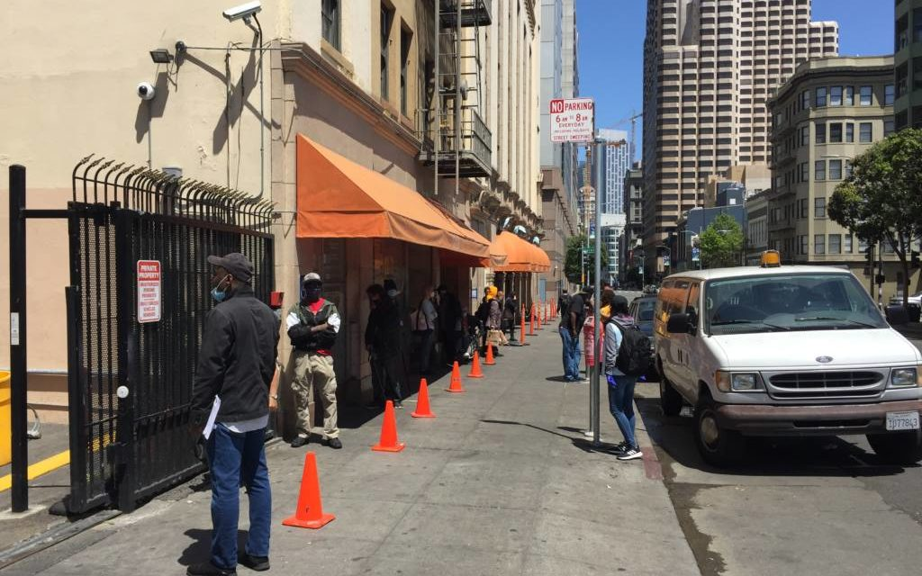 The new Tenderloin COVID-19 testing site was supposed to make testing accessible and easy — but requiring a smartphone and Google account nixed that