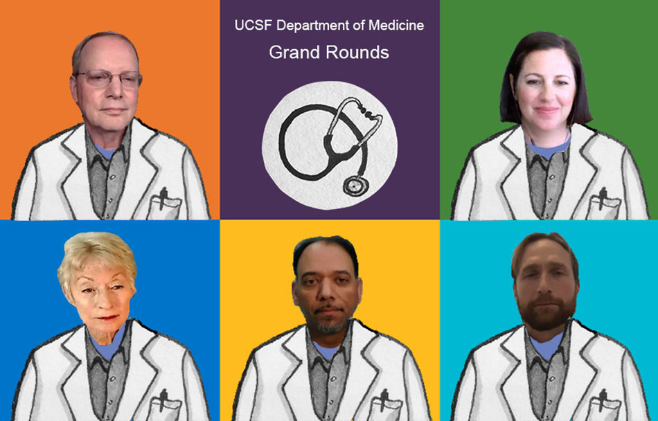Evento Medical Grand Rounds de la UCSF: Pacientes de edad avanzada y el dilema sobre la frecuencia con que se deben realizar pruebas los trabajadores
