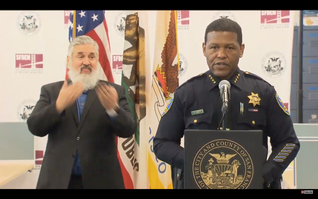 'Stay at home': SFPD Chief says San Franciscans could be cited or arrested for violating 8 p.m. curfew - Mission Local thumbnail