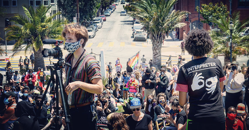 Unofficial pride gathering