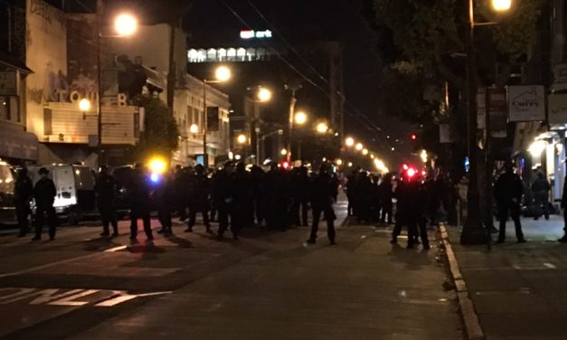 SFPD chief defends arrest of 23 protesters on Mission Street